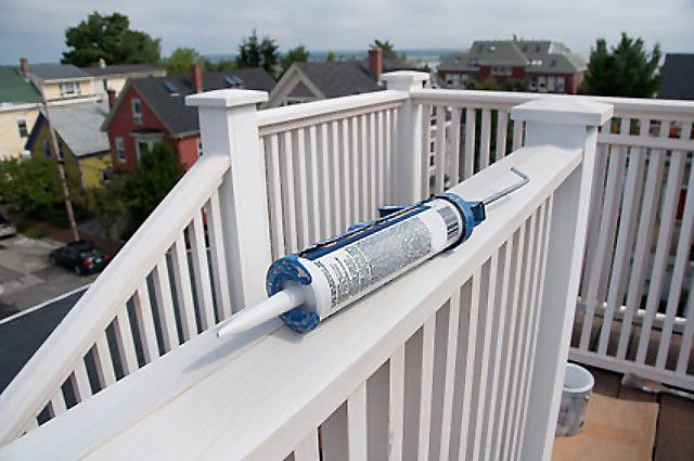 Caulk tube