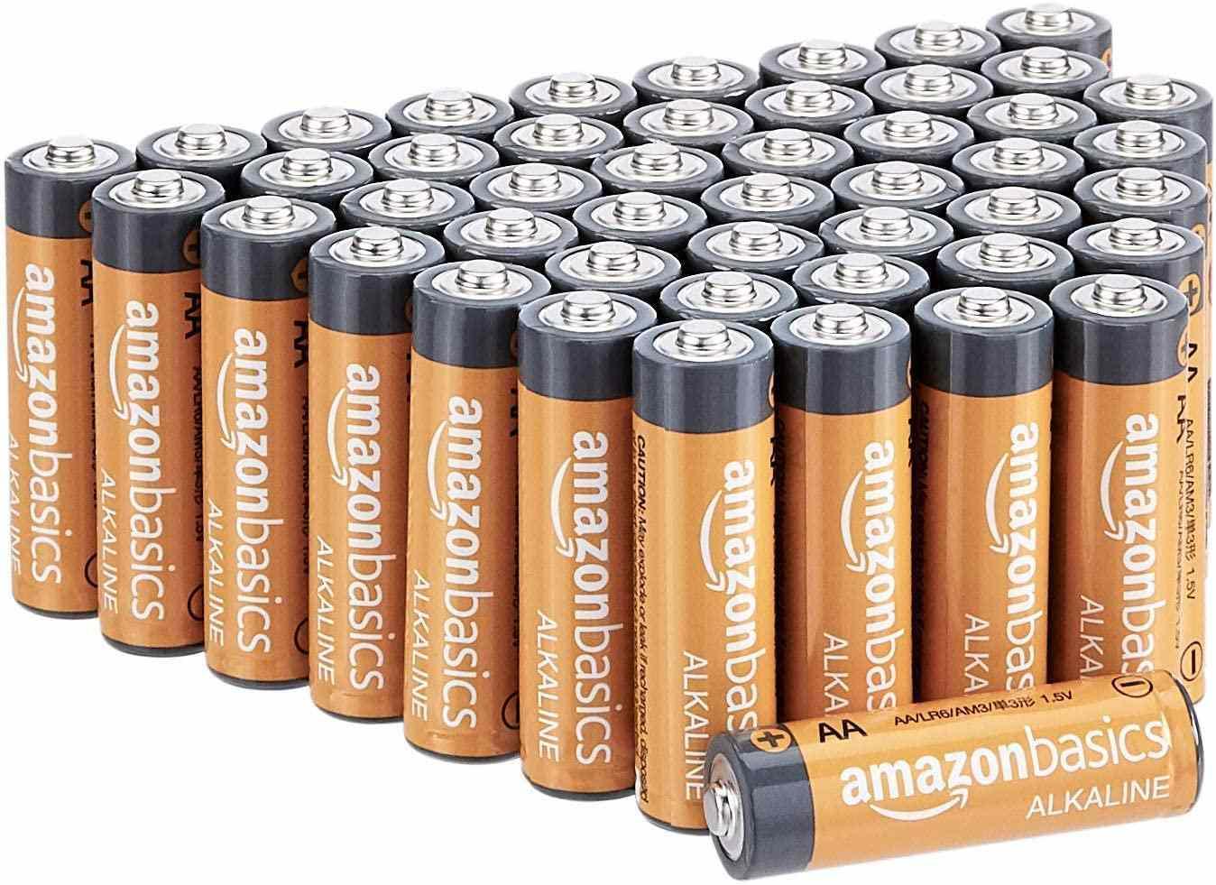 AmazonBasics AA 1.5 Volt Alkaline Batteries