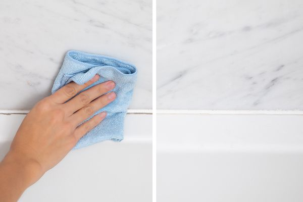 before and after of mold remover