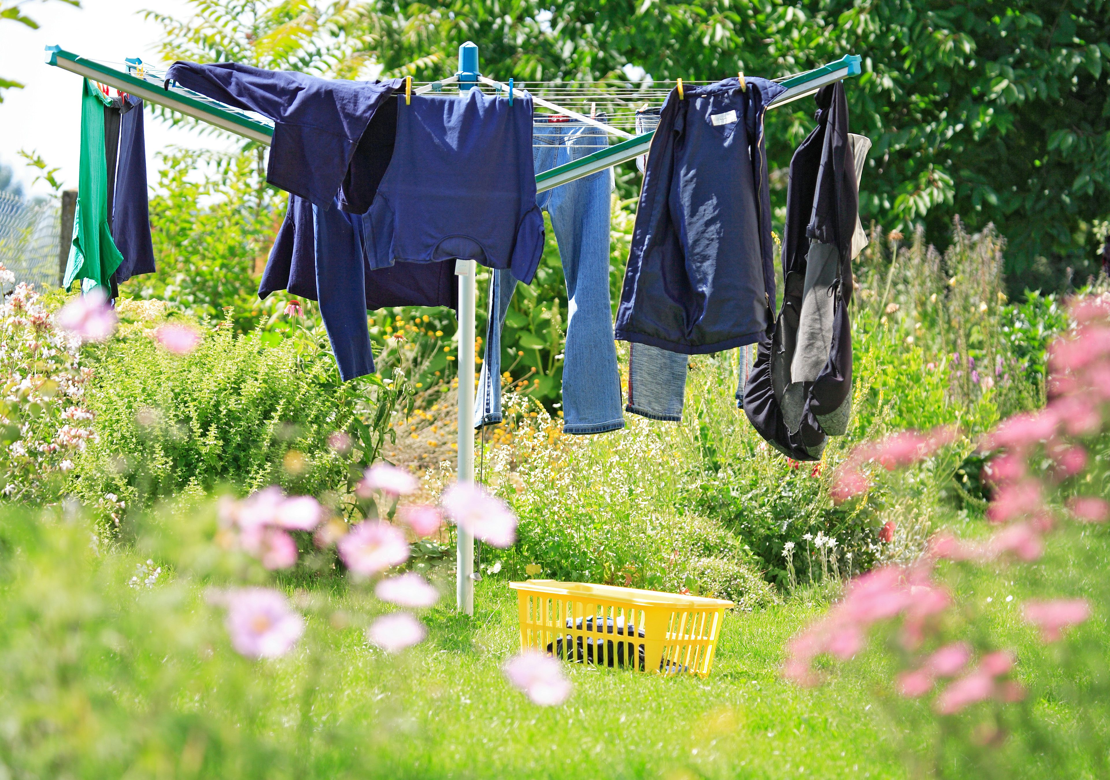 Line Drying Laundry Problems Solved