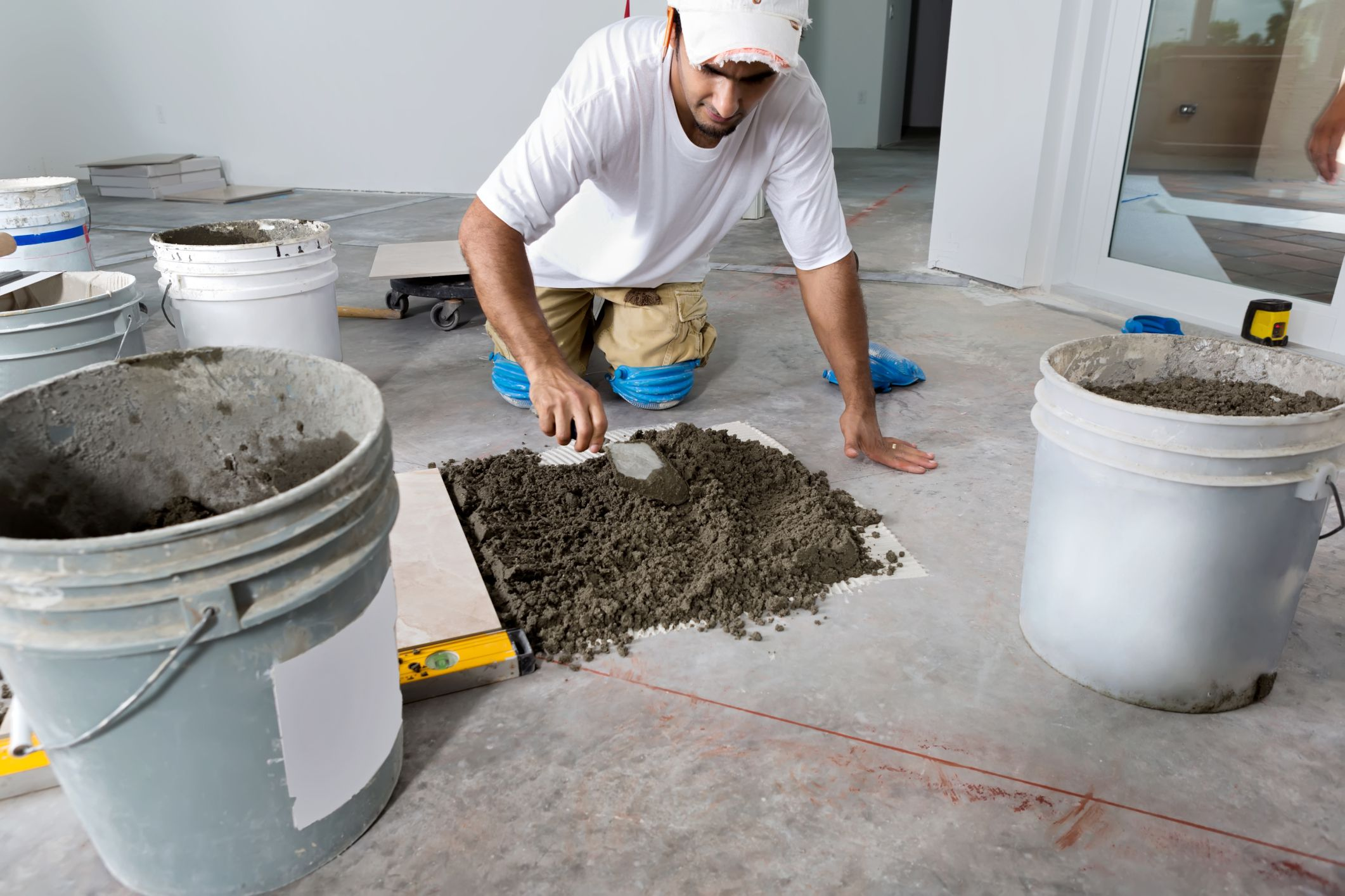 How To Lay Porcelain Tile In A Bathroom