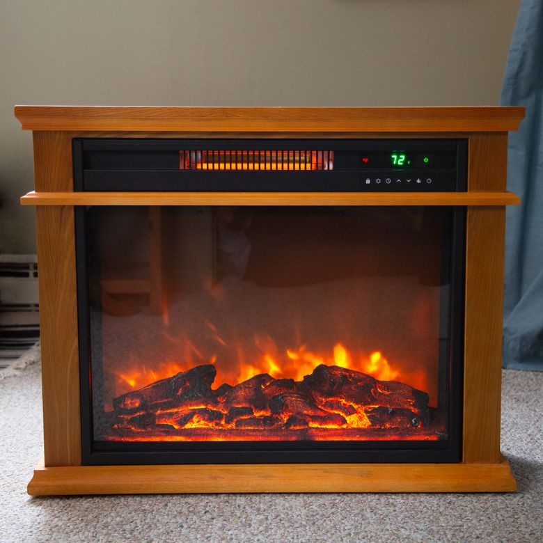LifeSmart Infrared Quartz Fireplace Heater