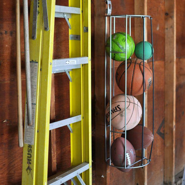 diy sports storage