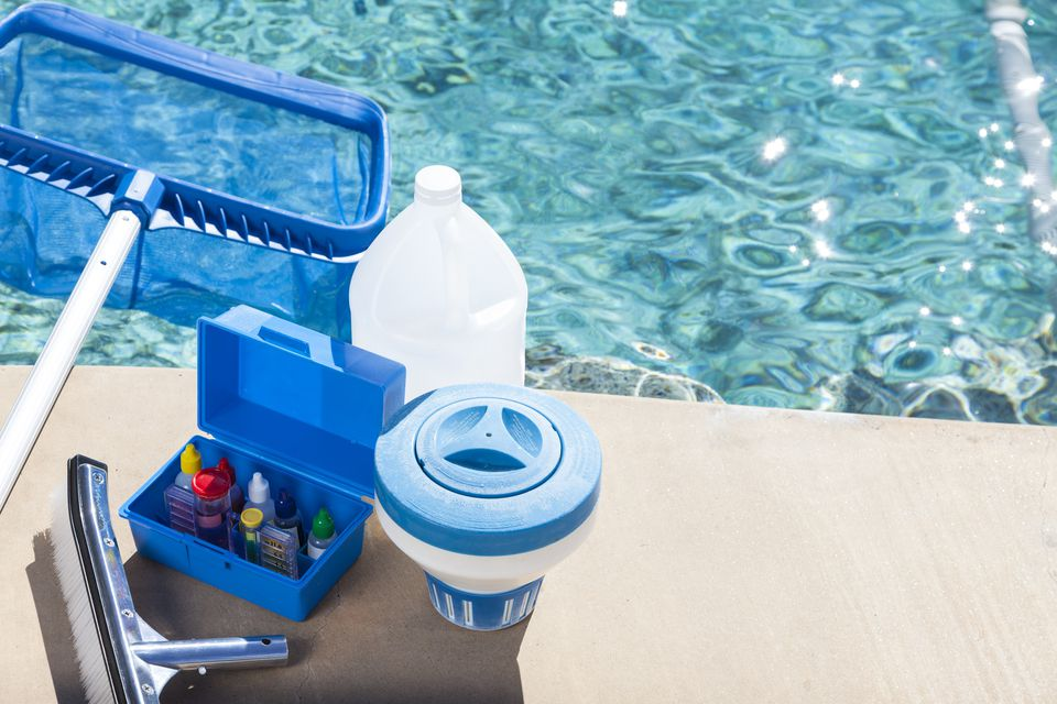 How to use a pool test kit to check water quality pool cleaning supplies solutioingenieria Image collections