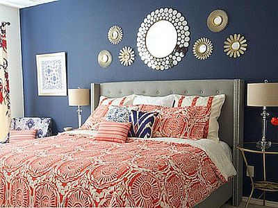 Gorgeous Yet Unexpected Color Trios For The Bedroom