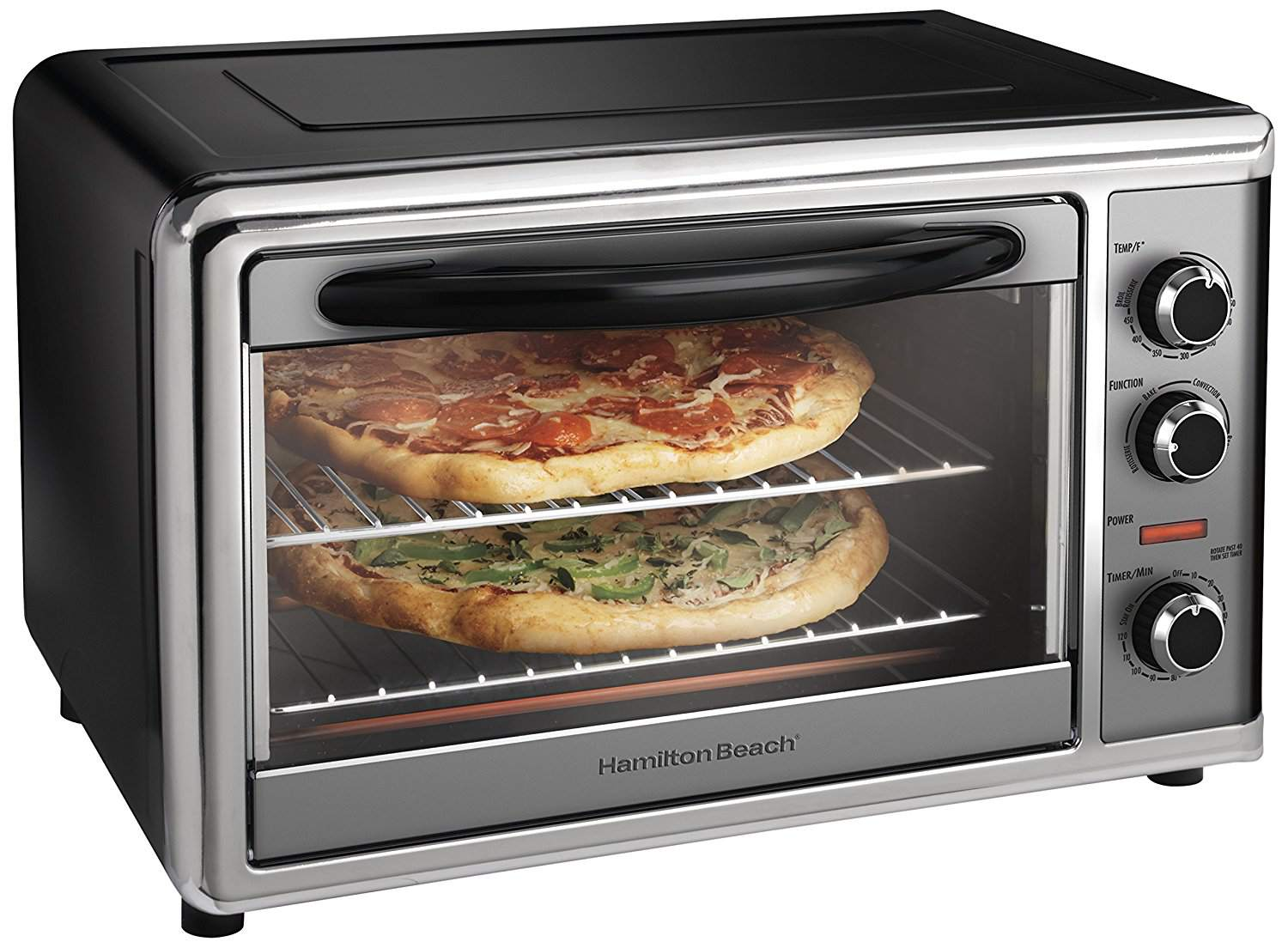 Best Multi Function Hamilton Beach Countertop Convection Oven And Rotisserie