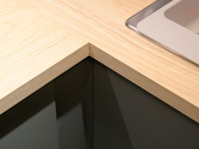 Kitchen Countertop Edge