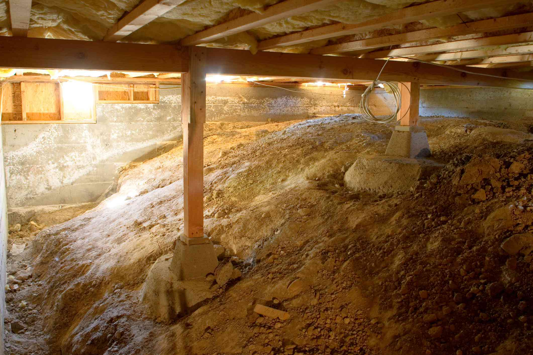 Crawl Space Under House
