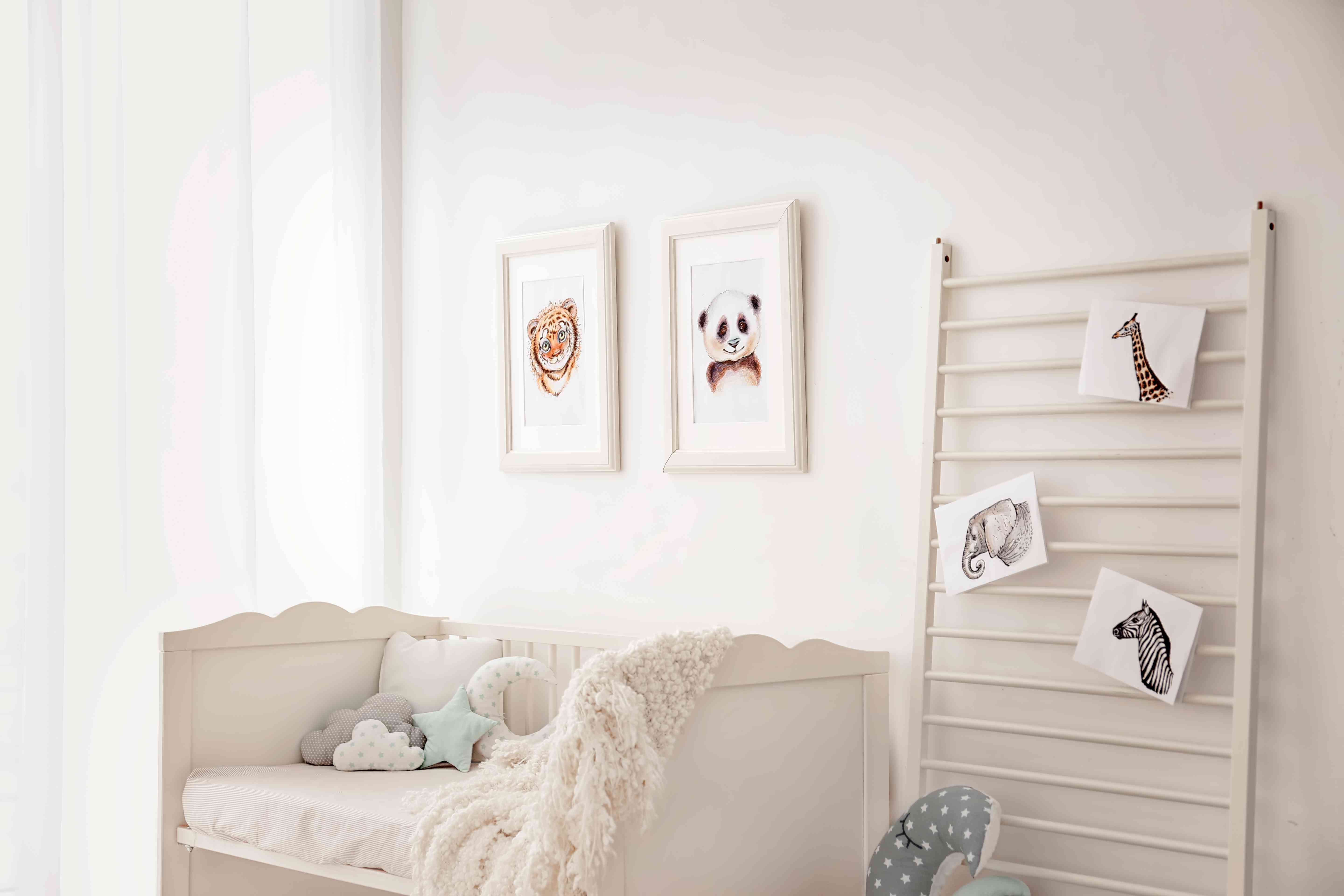dreamy woodland decor to try better homes gardens.htm 19 sweet and simple nursery designs  19 sweet and simple nursery designs