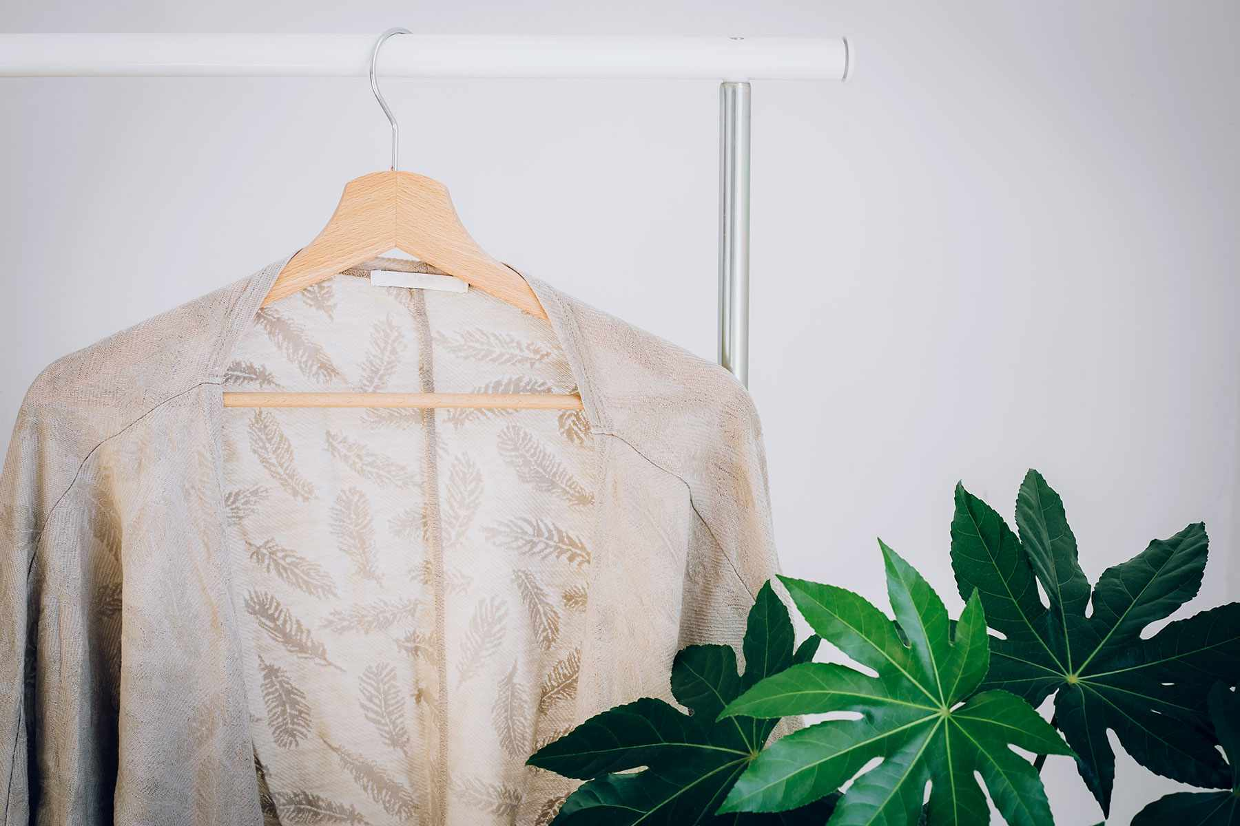 hang the affected garment in a well-ventilated area