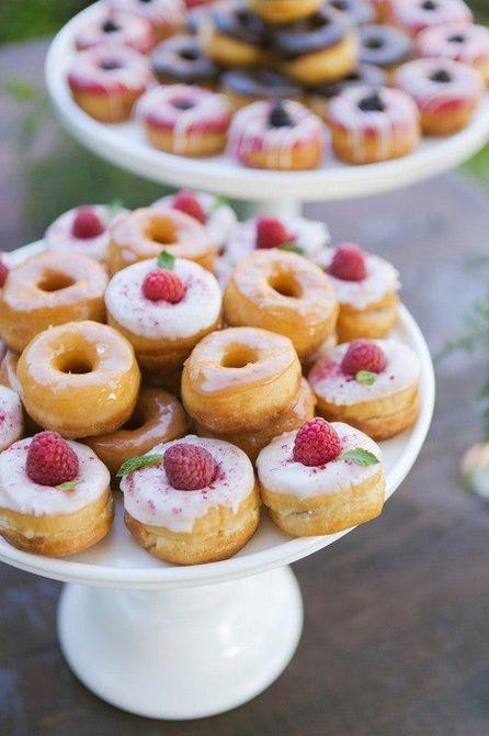 Donut de recepción nupcial Bar