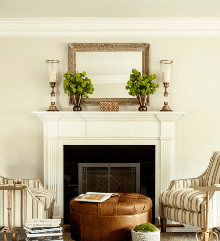Tremendous 25 Mantel Decor Ideas For All Seasons Home Interior And Landscaping Dextoversignezvosmurscom