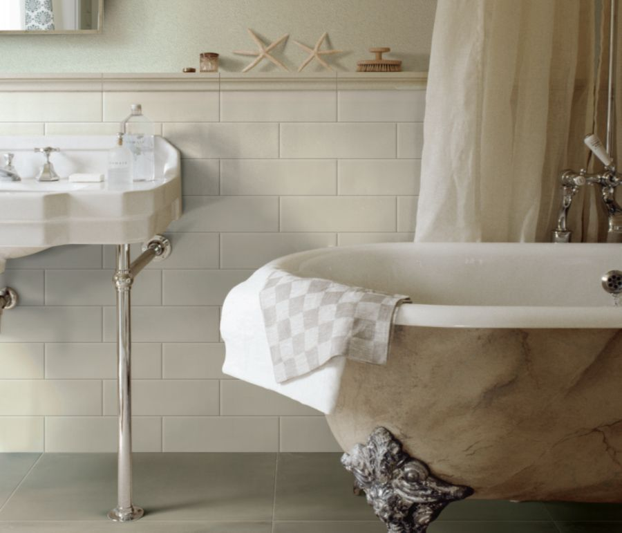 30 Great Bathroom Tile Ideas - Beige-bathroom-tiles