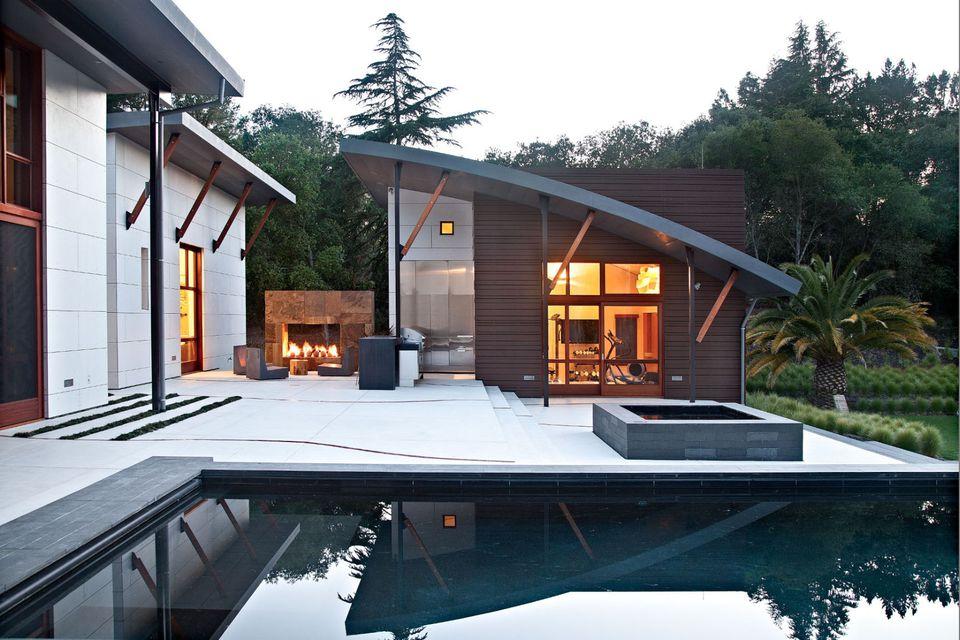 15 Beautiful Concrete Patio Ideas And Designs