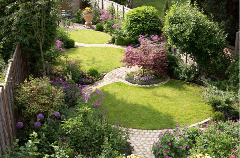 50 Backyard Landscaping Ideas to Inspire You on diamond interior design, diamond landscape quilt, diamond art design, diamond flower design,