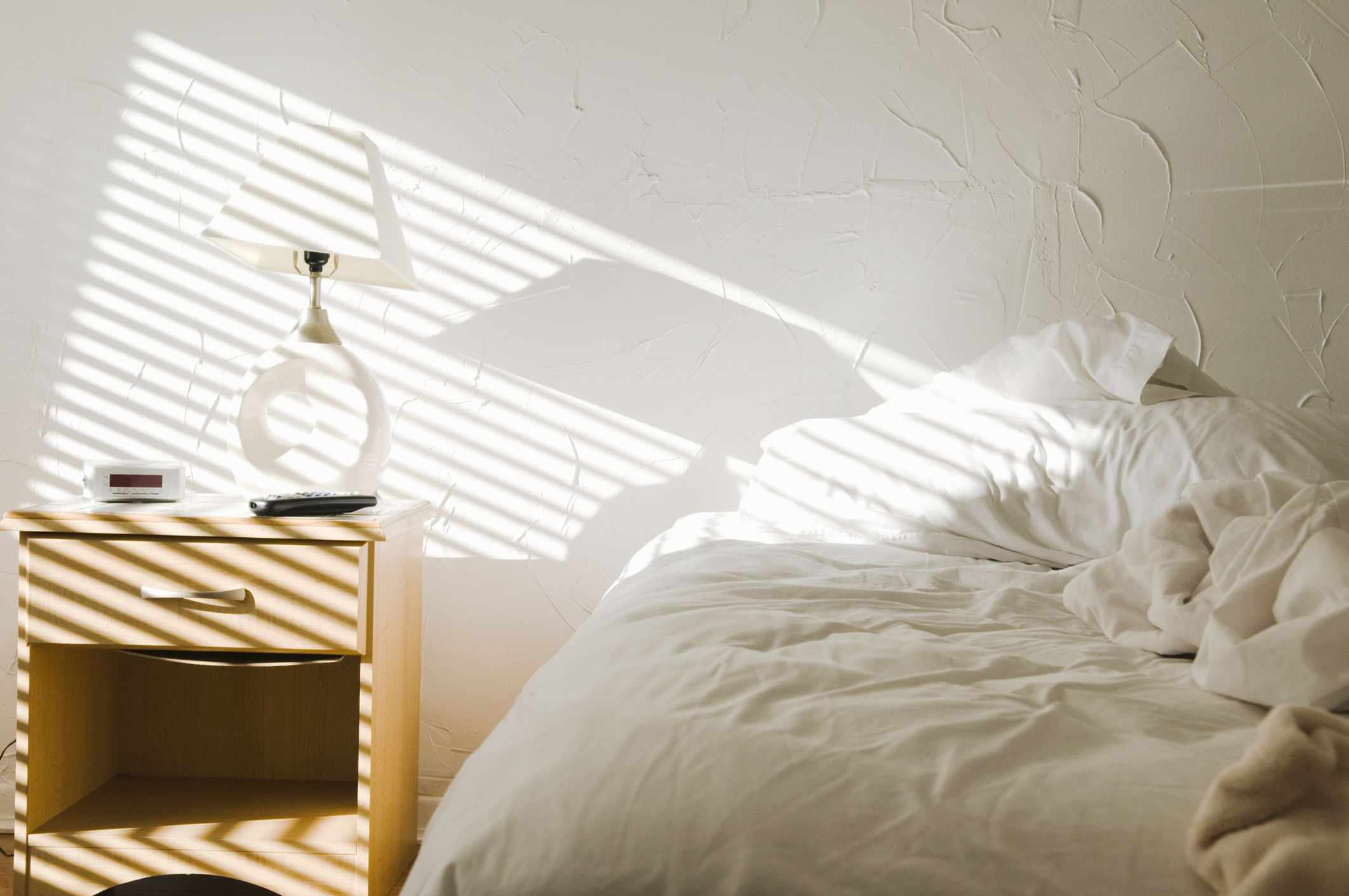 Room with natural lighting
