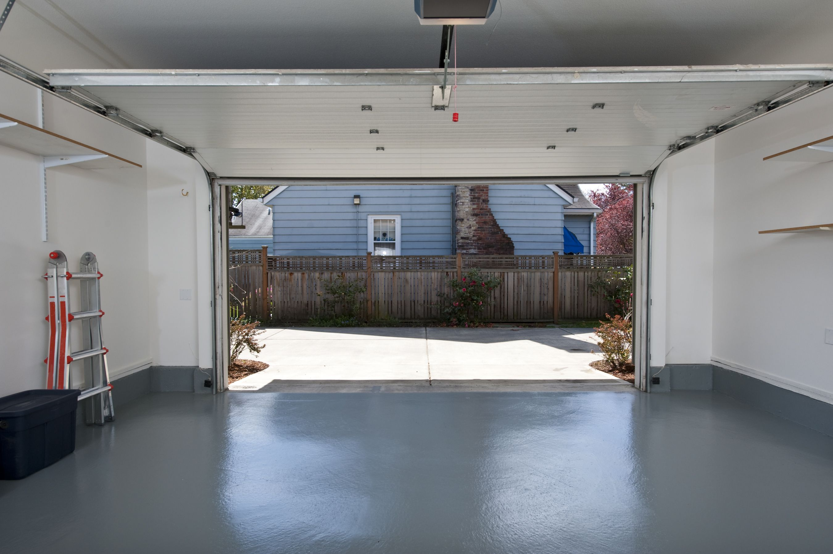 Ly Epoxy Coating To A Garage Floor