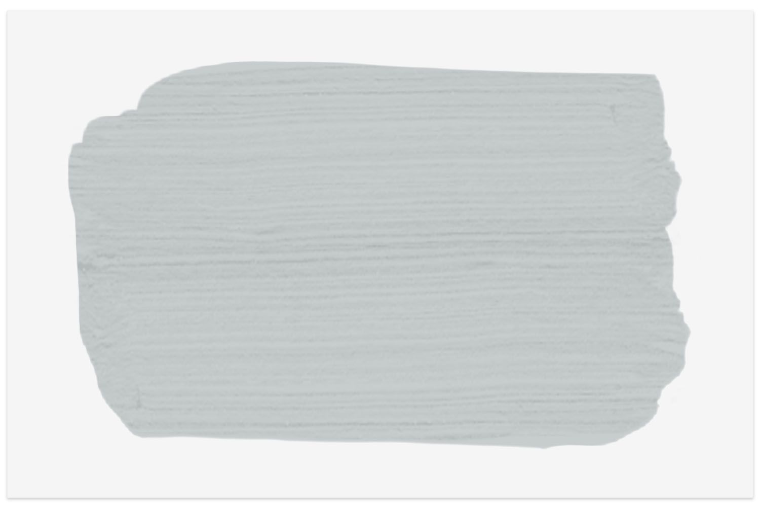 Pelican Gray by Benjamin Moore paint swatch