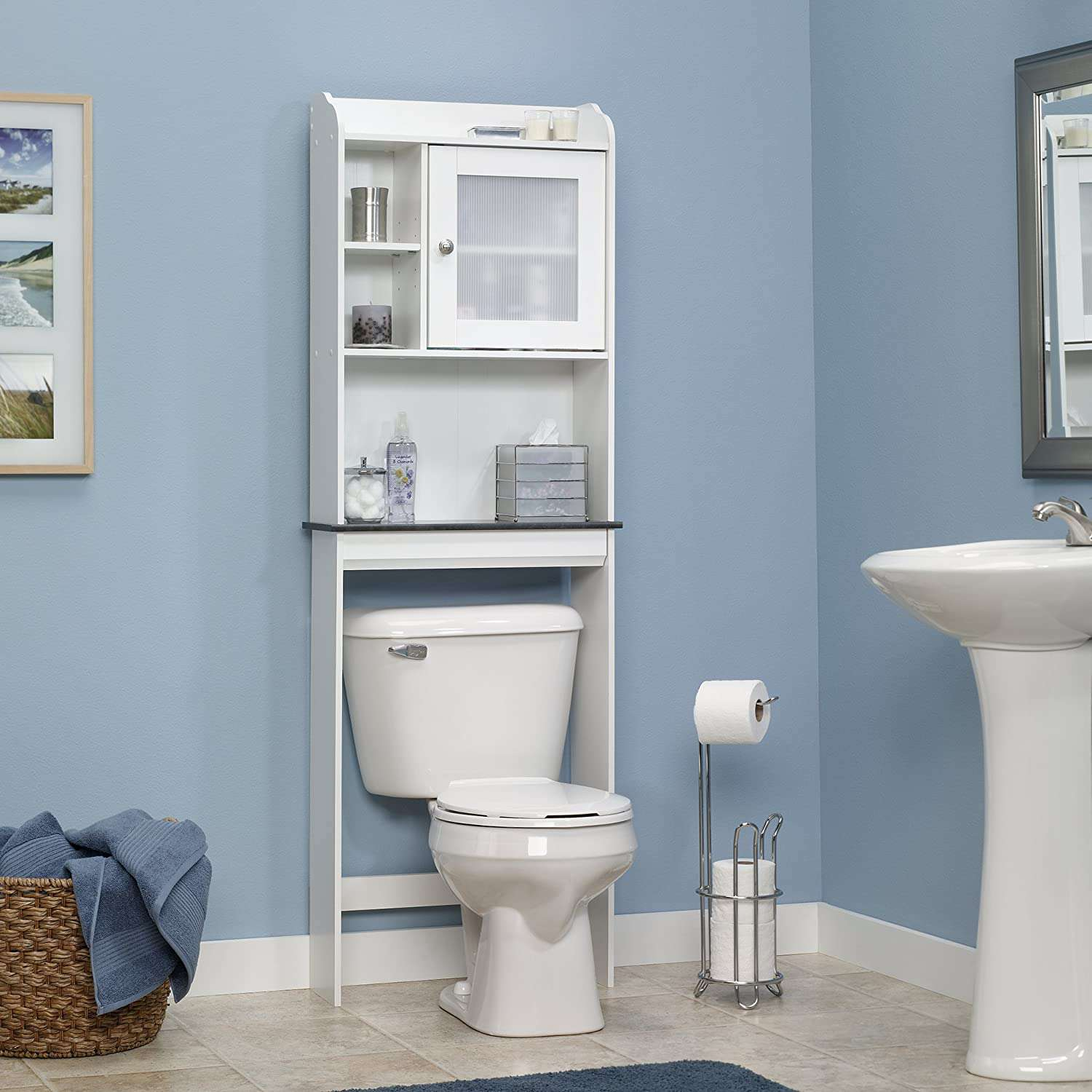 The 8 Best Over Toilet Storage Units Of 2021