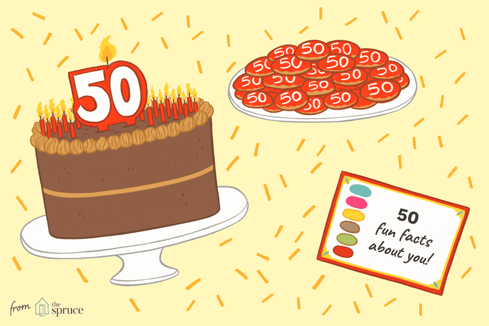 Fun Ideas For Celebrating A 50th Birthday
