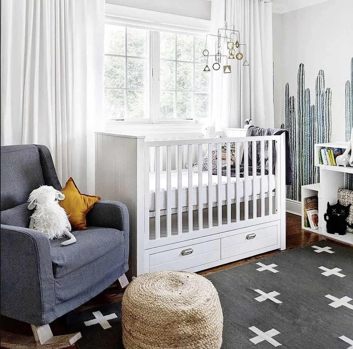 crib with storage drawers underneath
