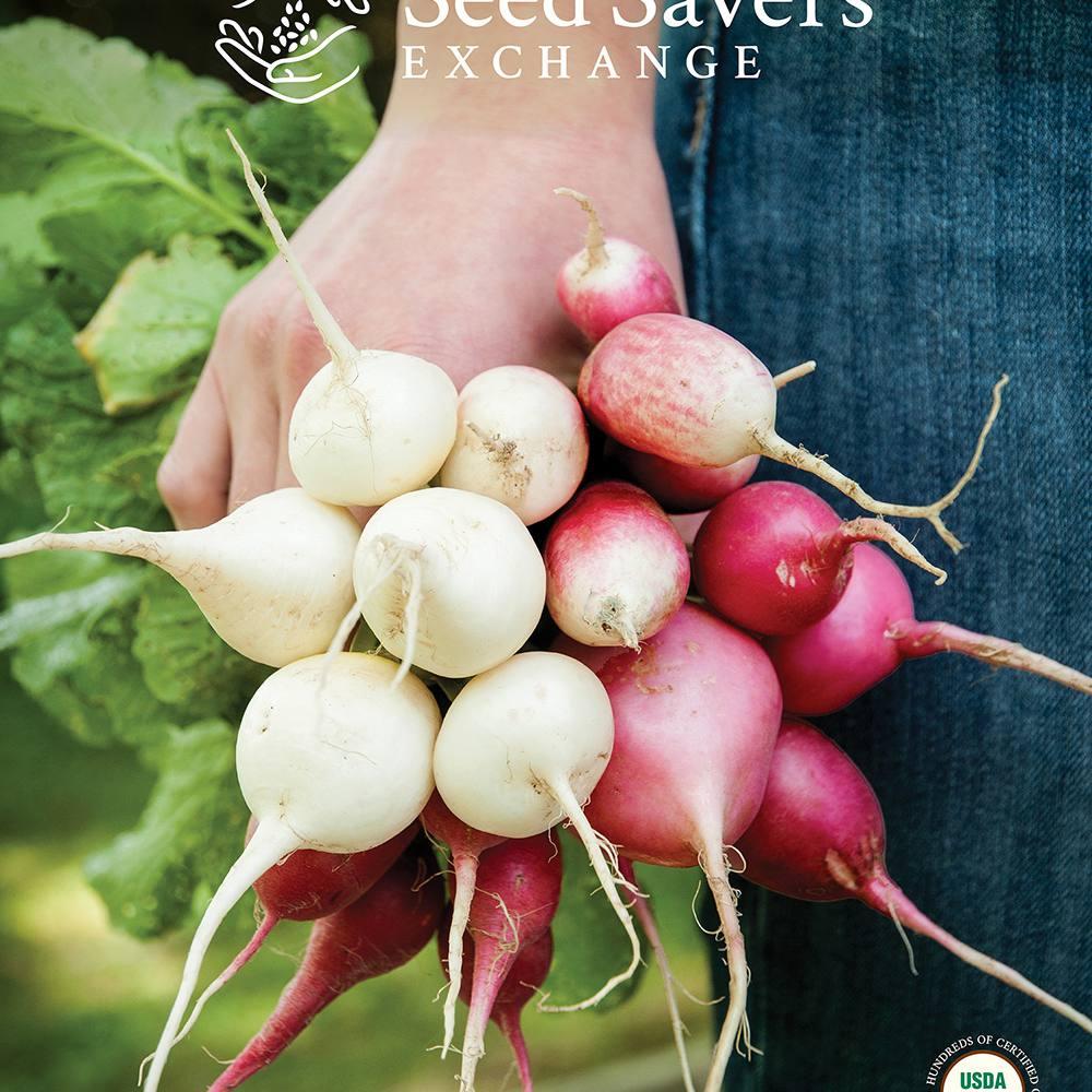 La portada del catálogo de Intercambiadores de semillas de 2018