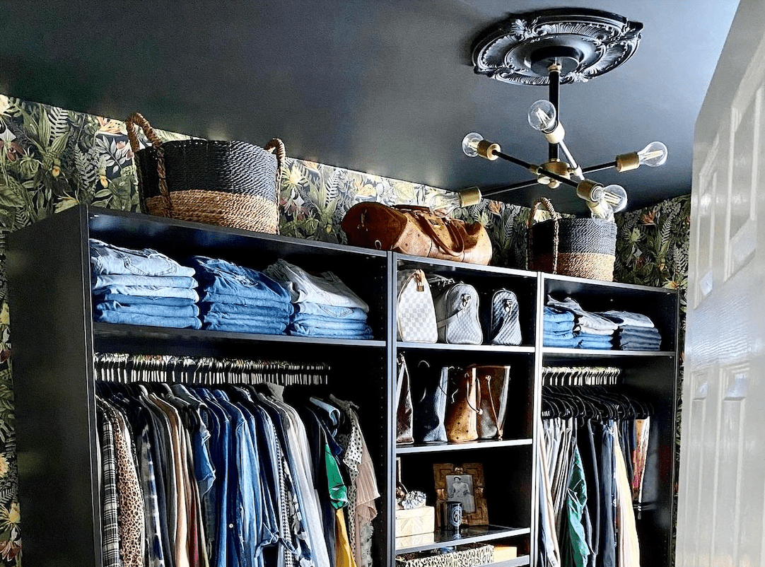 lighting in closet