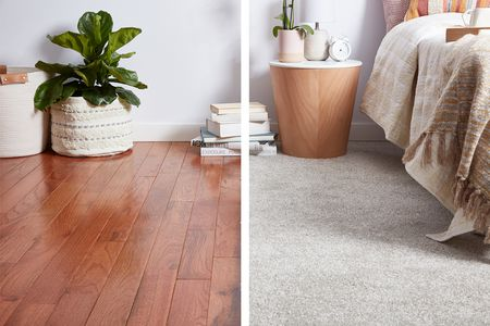 Carpet Vs Hardwood Flooring Which Is, Can You Put Laminate Flooring Over Thin Carpet