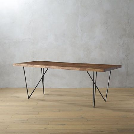 New Takes On The Classic Farmhouse Table - Cb2 kitchen table