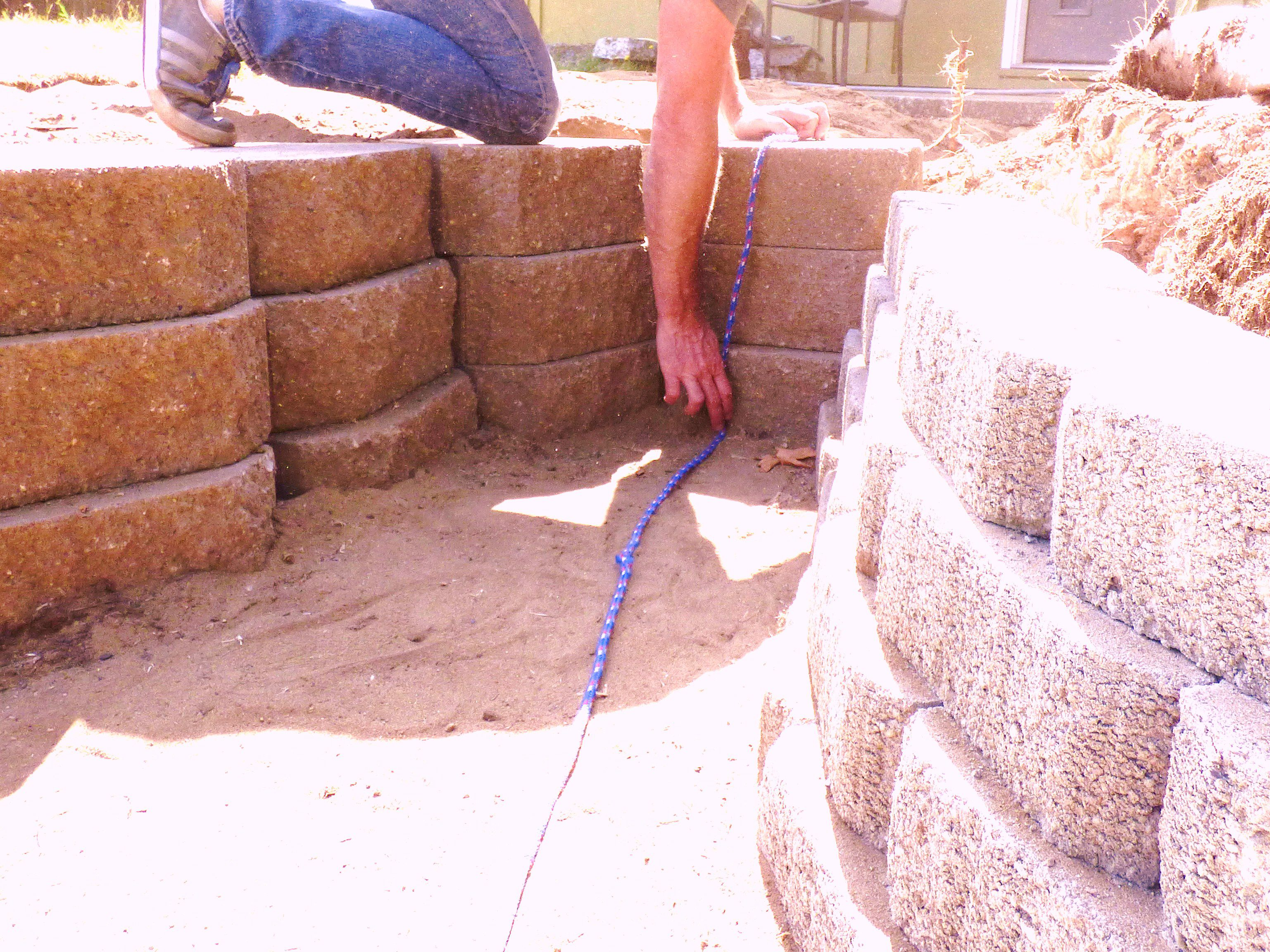 How to Build a Retaining Wall Garden Pond