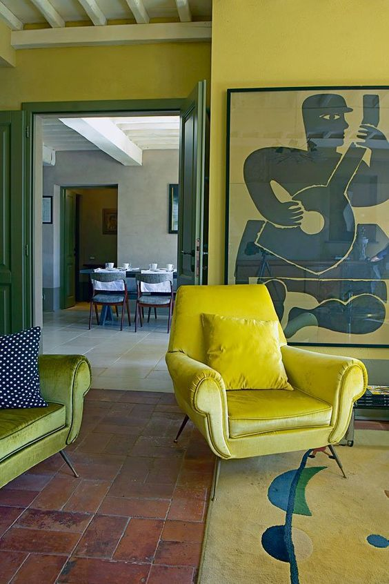 11 Beautiful Yellow Rooms