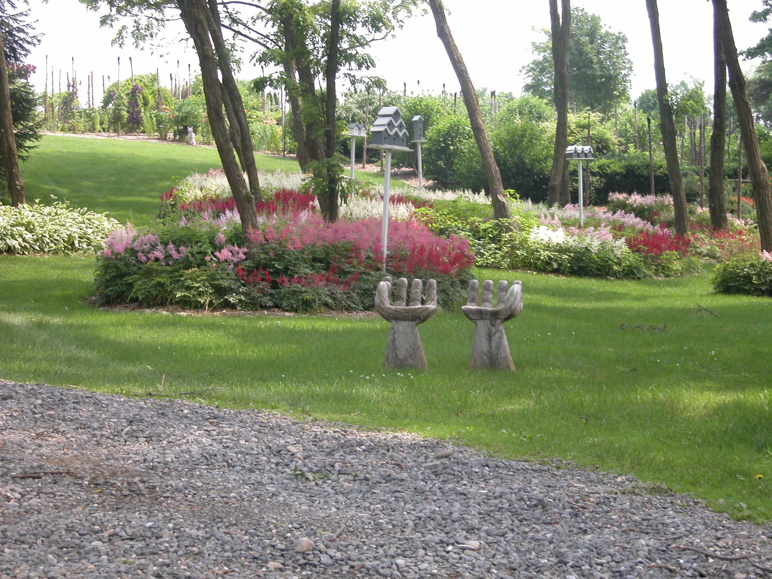 Asientos de jardín para diversión y fantasía
