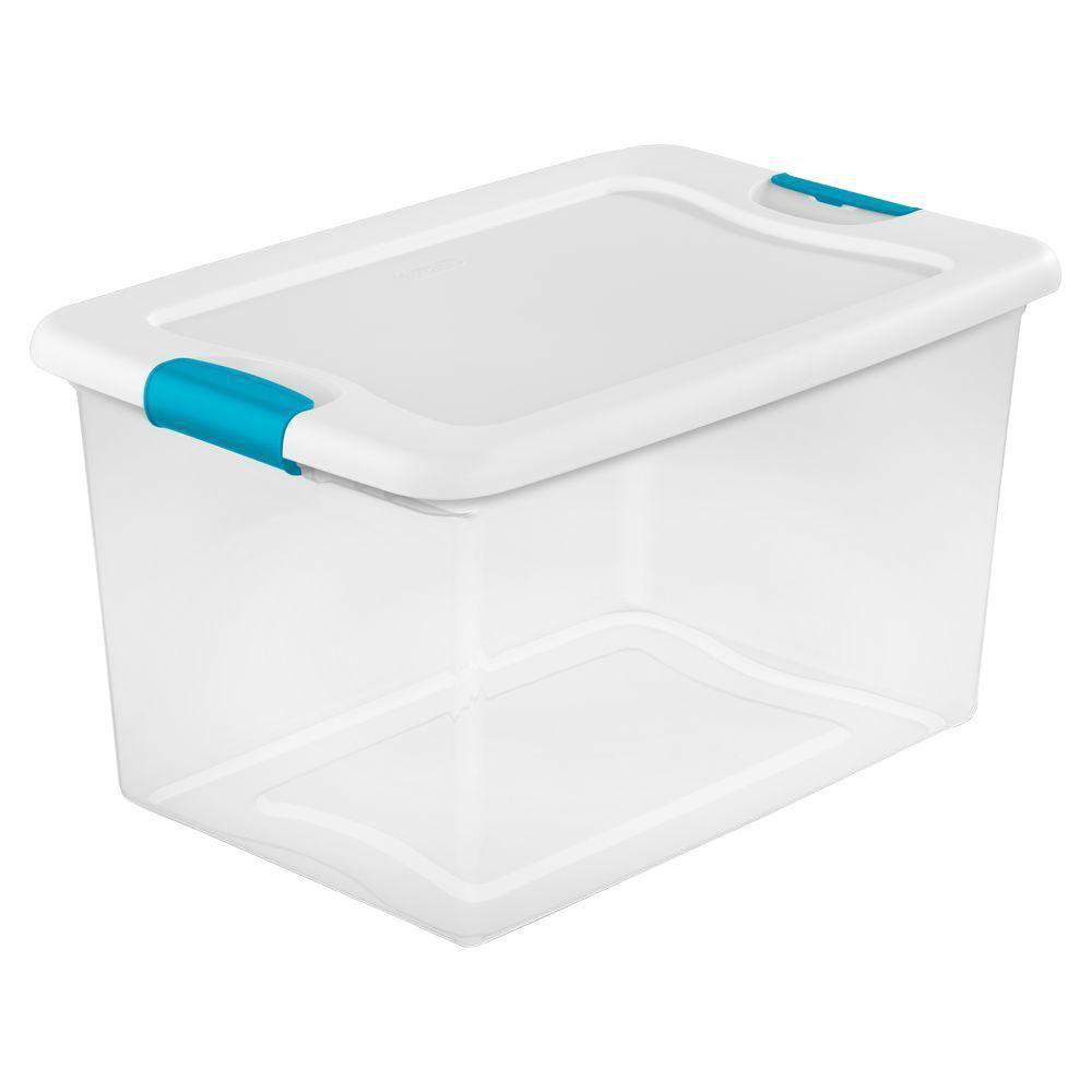 Sterilite Latching 64 Qt. Storage Box