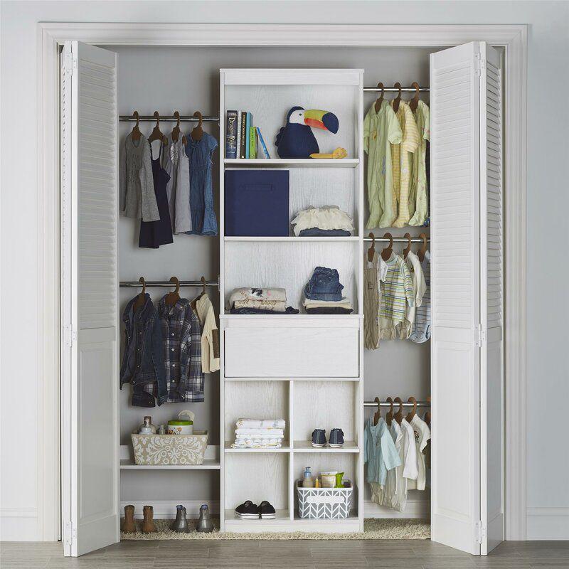 corner shelves walmart decorating bookshelves hutch lowes.htm the 9 best closet systems of 2020  the 9 best closet systems of 2020