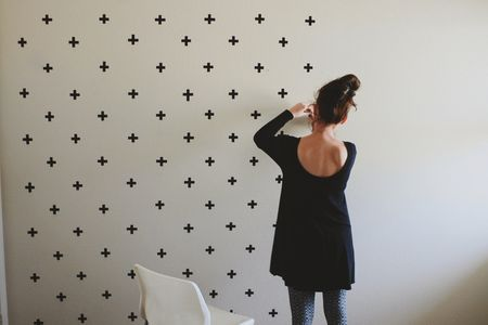 Wall Decoration Using Clothes