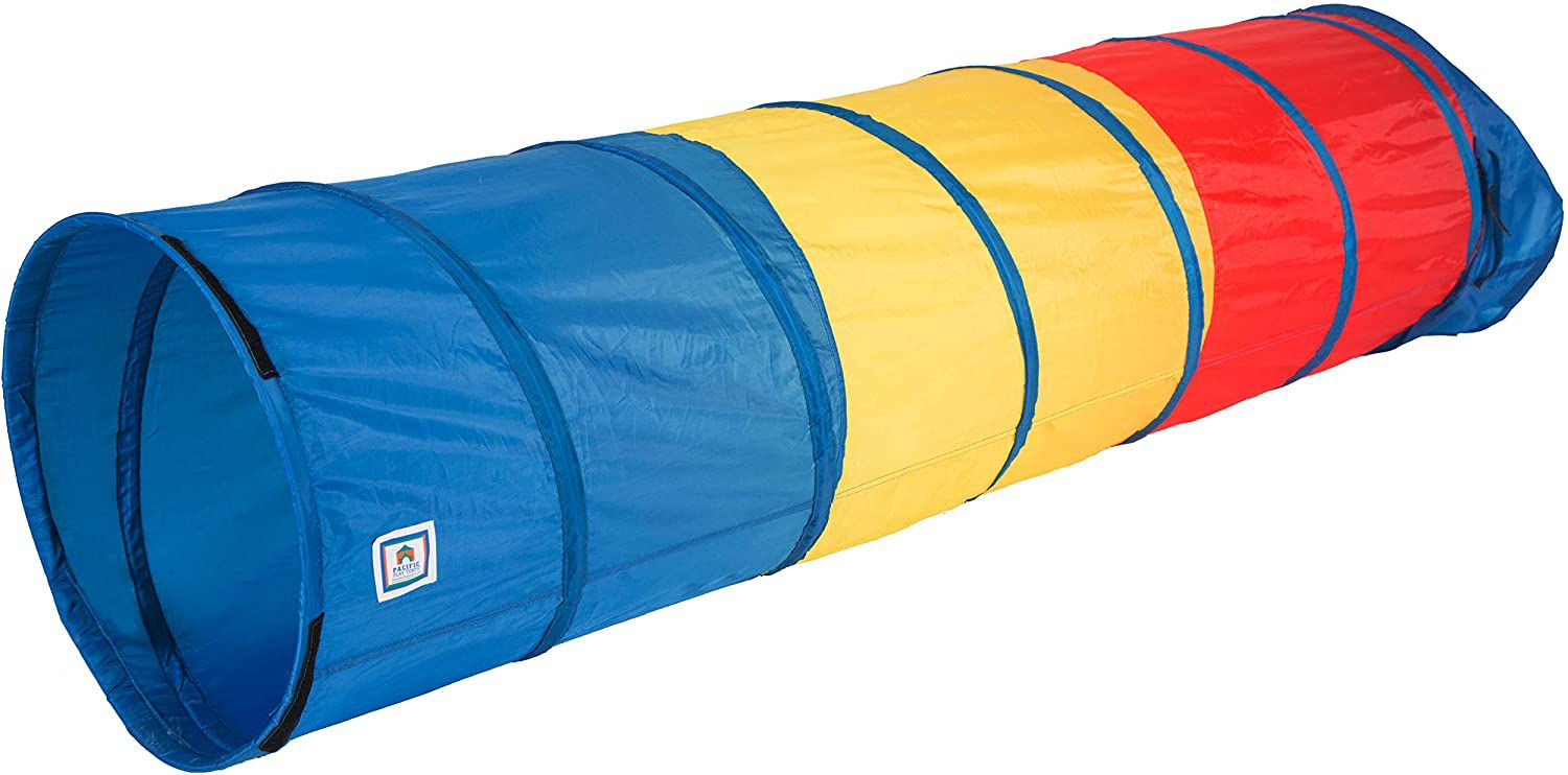 Pacific Tents Find Me Multicolor Play Tunnel