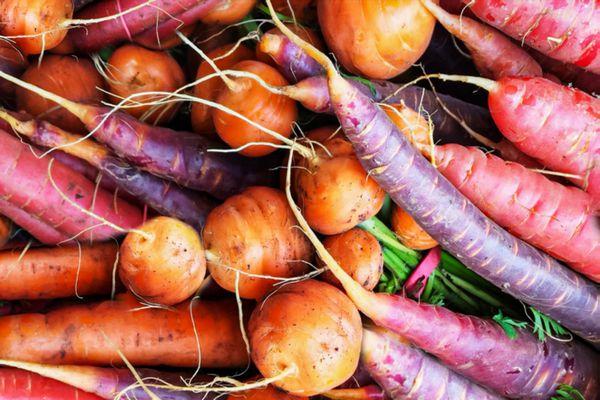 root vegetable assortment