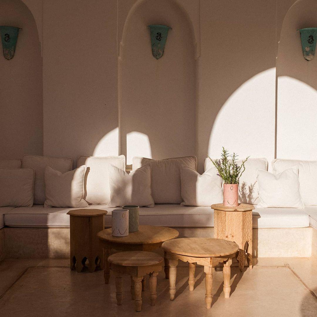 Moroccan-inspired decor