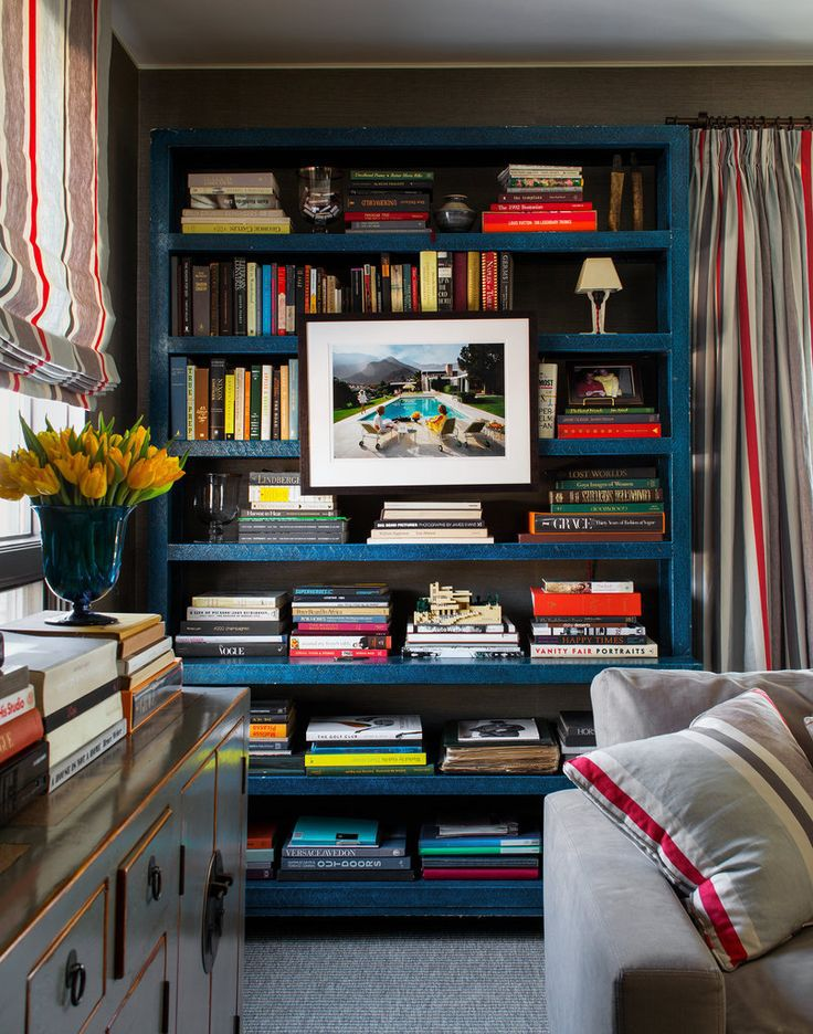 Bring Bright Hues Home With A Colorful Bookcase