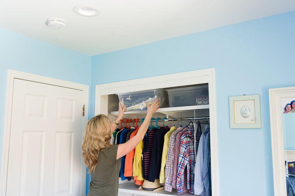 Organizar ropa de temporada