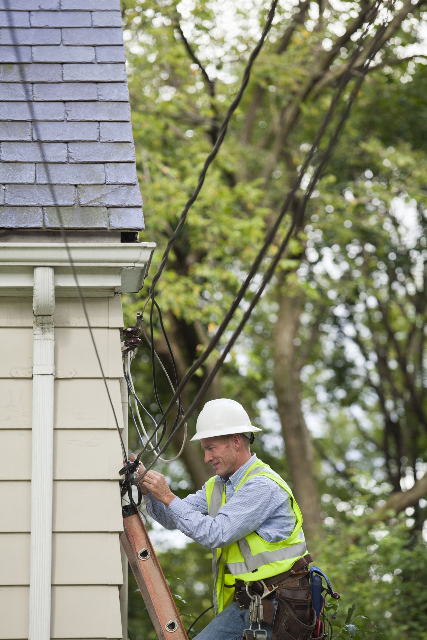 Basics Of Residential Electric Service Drops