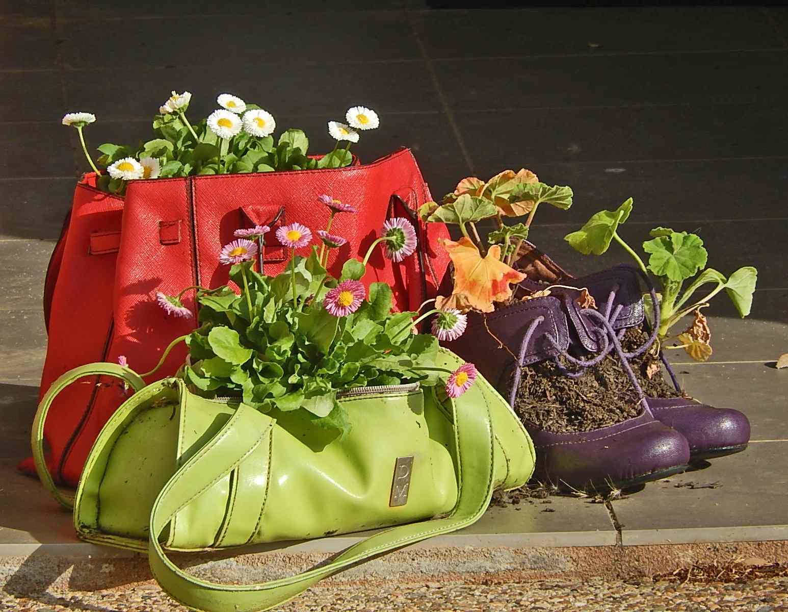 Purse Planters