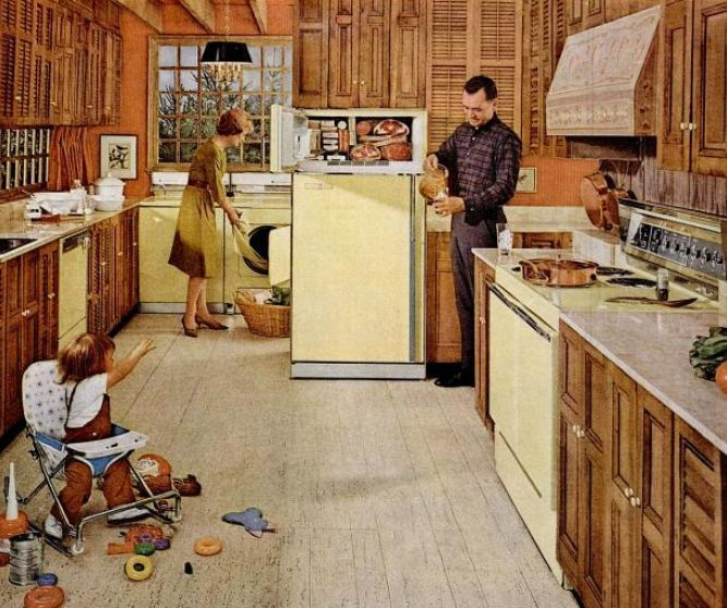 1960s Kitchens From Jet Age To Funkadelic, 1960s Kitchen Cabinets
