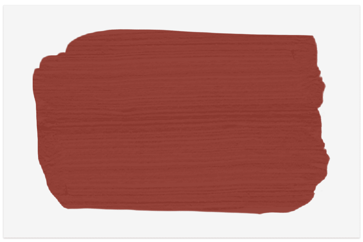 Morocco Red by Behr swatch