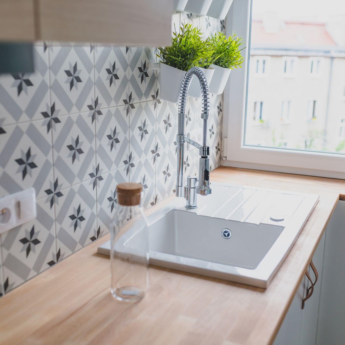- Adhesive Tile Mat Backsplash Pros And Cons