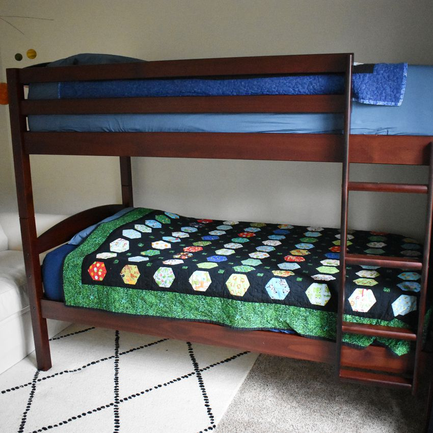 Walker Edison Furniture Classic Wood Twin Bunk