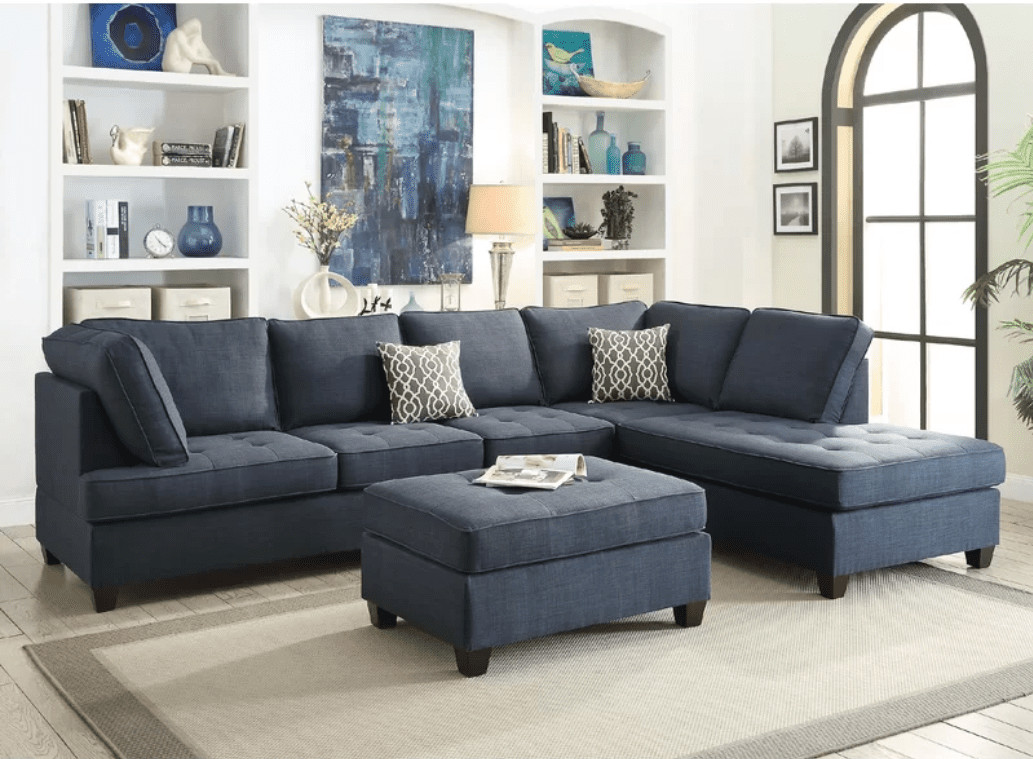 Best For A Large E Infini Furnishings Reversible Sectional