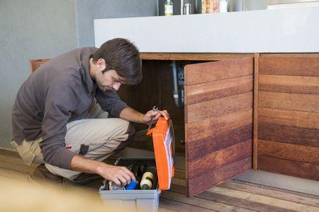 Strange Unblocking A Kitchen Sink Drain Using A Snake Interior Design Ideas Tzicisoteloinfo