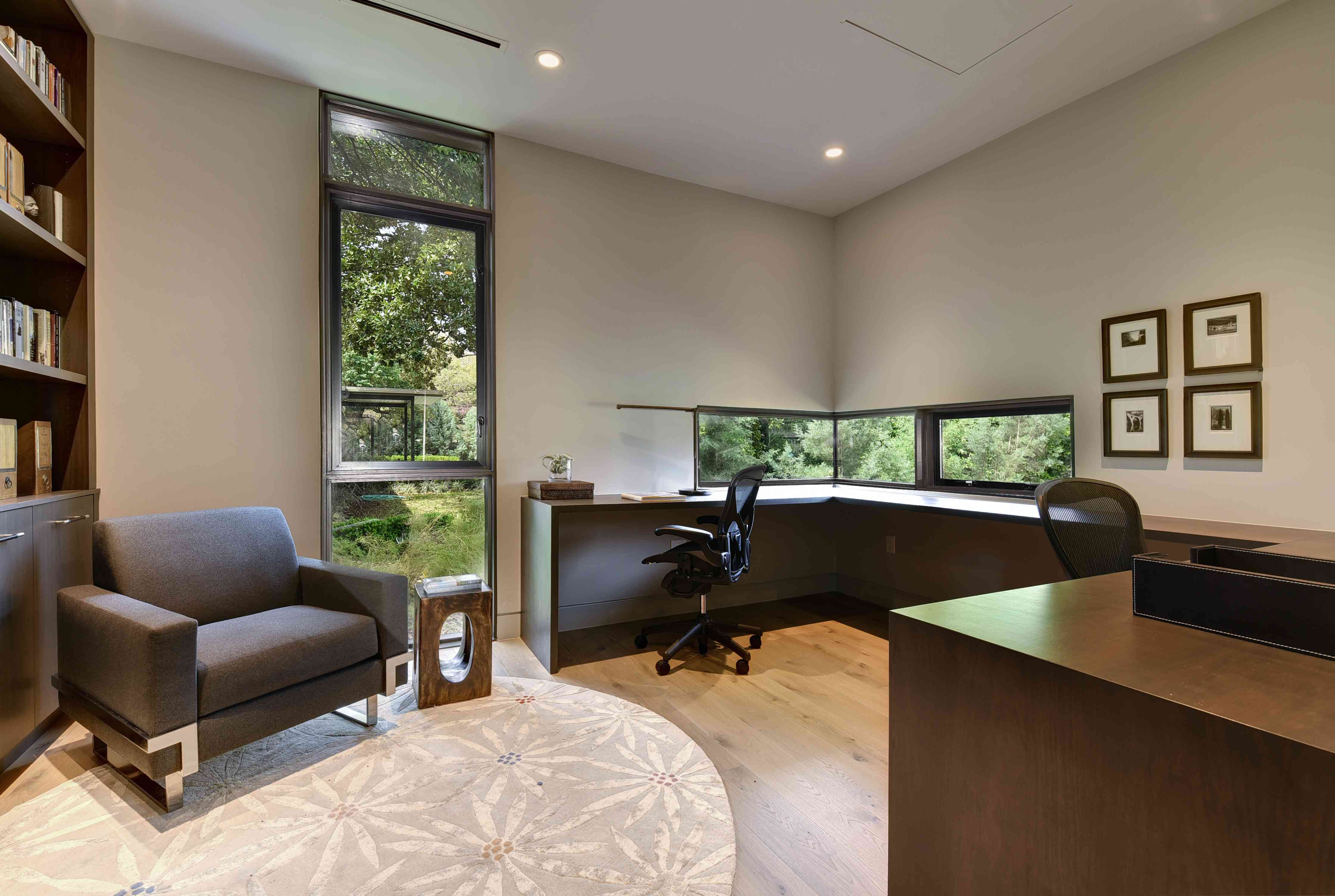 The office in Laura Britt's WELL home in Austin, TX, for Designer Diggs