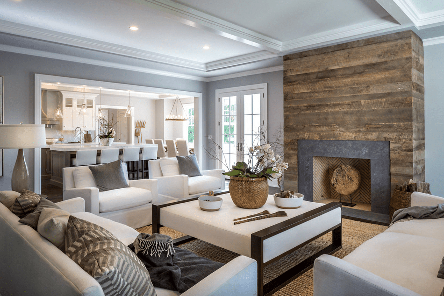9 Beautiful Living Rooms With Fireplaces